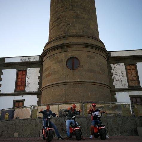 Maspalomas Tour de Ciudad con Patinete eléctrico Chopper